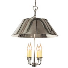 Broughton Ceiling Pendant Light Polished Nickel