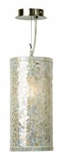 Brunswick White Cylinder Ceiling Pendant Light
