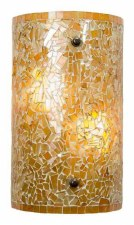 Brunswick Orange Tunnel Wall Light
