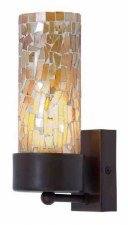 Brunswick Orange Cup Wall Light