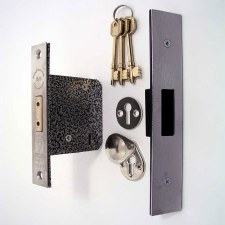 "Broughtons 5 Lever Mortice Deadlock 76mm(3"") Stainless Steel"