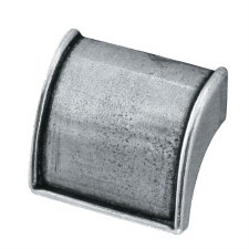 Finesse Burford Drawer Pull 40mm FD515 Solid Pewter
