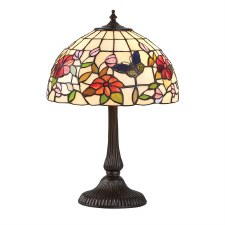 Interiors 1900 Butterfly Small Tiffany Table Lamp