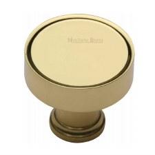 Heritage Florence Cabinet Knob C4549 Polished Brass