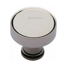 Heritage Florence Cabinet Knob C4549 Polished Nickel