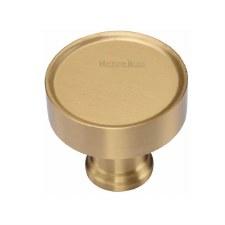 Heritage Florence Cabinet Knob C4549 Satin Brass