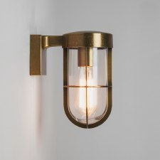 Cabin Wall Light 7559 Antique Brass