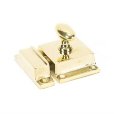 From The Anvil Cabinet Latch Polished Brass