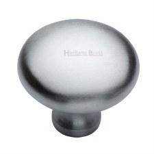 Heritage Mushroom Cabinet Knob C113 38 Satin Chrome