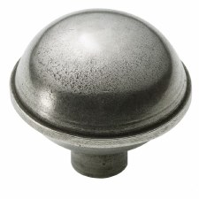 Finesse Dome Cabinet Knob 47mm PCK004Solid Pewter