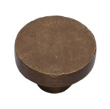 Heritage Cabinet Knob RBL3880 32mm Solid Bronze Rustic