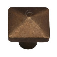 Heritage Cabinet Knob RBL390 32mm Solid Bronze Rustic