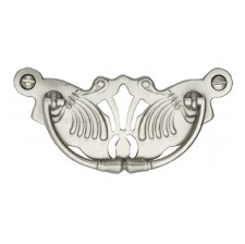 Heritage Decorative Cabinet Drop Handle V5021 Satin Nickel
