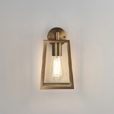 Calvi Outdoor Wall Light 7984 Antique Brass