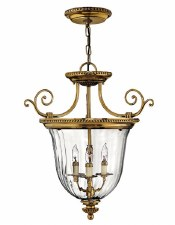 Hinkley Cambridge Small Pendant Burnished Brass