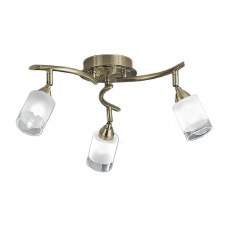 Kampani Ceiling 3 Spot Lights Bronze
