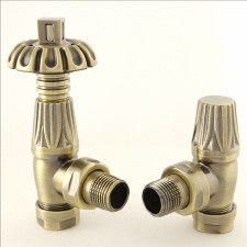 Canterbury Thermostatic Valve Antique Brass