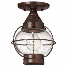 Hinkley Cape Cod Flush Porch Ceiling Light