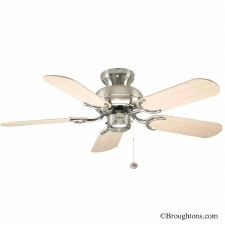 "Fantasia Capri 36""Ceiling Fan Oak/SS"