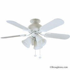 "Fantasia Capri 36"" Ceiling Fan with Lights White"