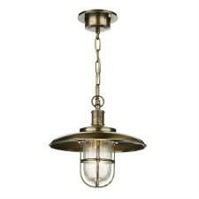 David Hunt CAP0175 Captain Chain Lantern Antique Brass IP43