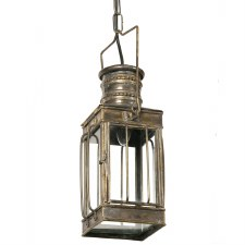 Cargo Small Lantern Light Antique Brass