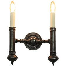Carlton Twin Wall Light Antique