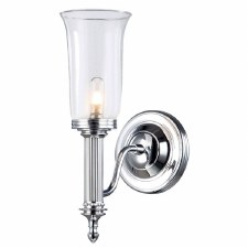 Elstead Carroll 2 Bathroom Wall Light Chrome