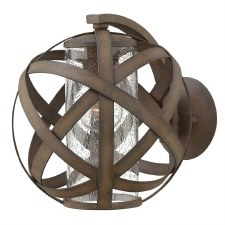 Hinkley Carson Outdoor Wall Lantern Vintage Iron