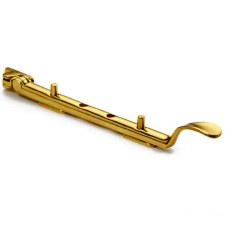 Croft Spoon End Window Stay Polished Brass Unlacquered