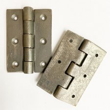 "Cast Iron Hinges 3"" Self Colour"