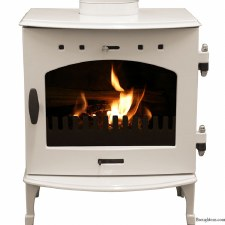 Cast Iron Stove Cream Enamel 4.7kw