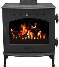 Cast Iron Stove Gun Metal Black 4.7kw