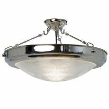 Flush Ceiling Light Chrome