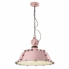 Italian Ceramic Ceiling Pendant Light C1720 Vintage Cipria
