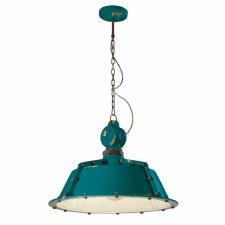 Italian Ceramic Ceiling Pendant Light C1720 Vintage Verde