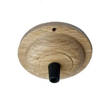 Ceiling Rose/Point for Flex CR9070/94mm Oak