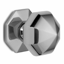 Croft Centre Door Knob 1751 76mm Polished Chrome