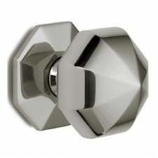 Croft Centre Door Knob 1751 76mm Polished Nickel