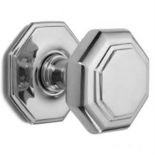 Croft Large Centre Door Knob 4185 Polished Chrome