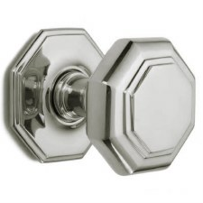 Croft Large Centre Door Knob 4185 Polished Nickel