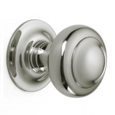 Croft Centre Door Knob 6344 Polished Nickel