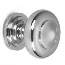 Croft Centre Door Knob 6345 Polished Chrome