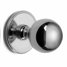 Croft 6405 Centre Door Knob Polished Chrome