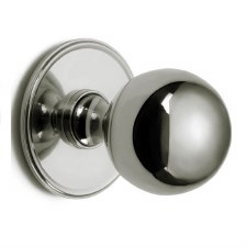 Croft 6405 Centre Door Knob Polished Nickel