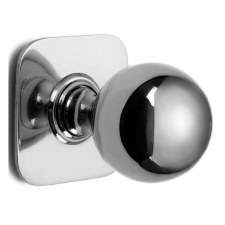 Croft Centre Door Knob 6406 Polished Chrome