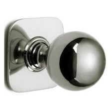 Croft Centre Door Knob 6406 Polished Nickel