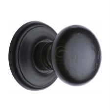 Heritage Centre Door Knob FB901 Black Iron Rustic
