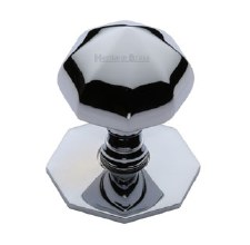 Heritage V880 Centre Door Knob Polished Chrome