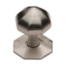 Heritage V880 Centre Door Knob Satin Nickel
